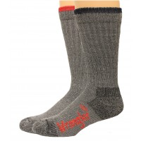 Wrangler Men's Pro Gear Wool Blend Socks 2 Pair, Grey Assort, Men's 9-13