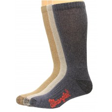 Riggs by Wrangler Cotton Boot Sock 3 Pack, Color Assort., M 8.5-10.5